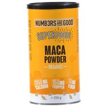 Numbers Are Good Superfoods Maca powder organic 250 g