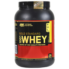Optimum Nutrition Gold Standard 100% Whey Prah french vanilla creme 908 g