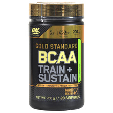 Optimum Nutrition Gold Standard BCAA Train+Sustain Prah apple pear 266 g