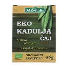 Čaj kadulja eko 40g darvitalis