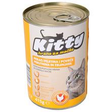 Kitty Hrana za mačke piletina 415 g