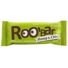 Roobar Pločica hemp&chia 30 g
