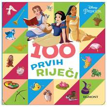 Disney Princeza 100 prvih riječi