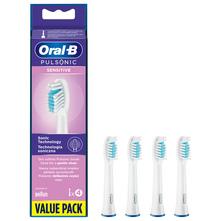 Oral B Pulsonic Sensitive Zamjenske glave za električnu zubnu četkicu 4/1