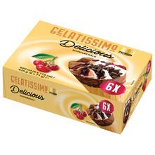 Gelatissimo Sladoled Delicious schwarzwald 6x115 ml