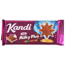 Kandi Milky Plus Superstar Mliječna čokolada s punjenjem 90 g