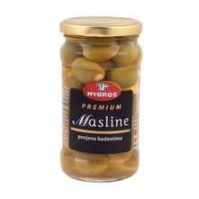Mygros Premium Masline punjene bademima 170 g