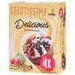 Gelatissimo Premium Sladoled schwarzwald 4x115 ml