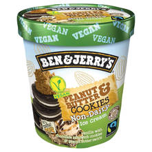 Ben & Jerry's Sladoled peanut butter & cookies 465 ml
