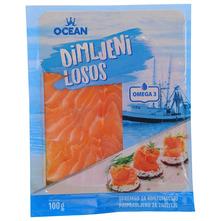 Ocean Dimljeni losos narezan 100 g