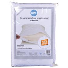 HRC Jastučnica štepana sa zatvaračem 60x80 cm