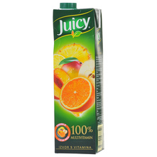 Juicy Sok 100% multivitamin 1 l