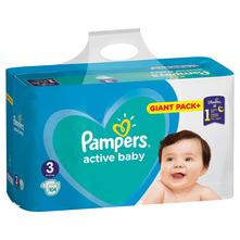 Pampers Active Baby Pelene, veličina 3 (6-10 kg) 104/1