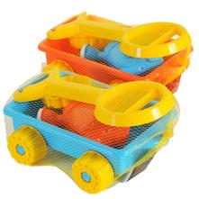 Igračka kolica s vezicom i priborom za igranje razne boje