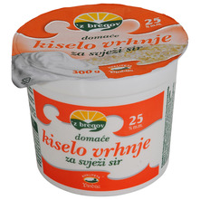 Z bregov Domaće kiselo vrhnje za svježi sir 25% m.m. 300 g