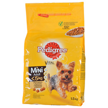 Pedigree Vital Potpuna hrana za odrasle pse piletina 1,5 kg
