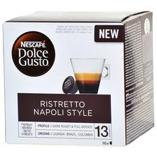 Nescafe Dolce Gusto Ristretto Napoli style kava, 16 kapsula, 128 g