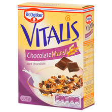 Dr. Oetker Vitalis Chocolate muesli dark chocolate 375 g