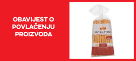 Opoziv i povlačenje proizvoda La Mole Grissini sa sjemenkama sezama i suncokretovim uljem 200 g s tržišta