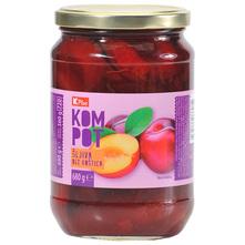 K Plus Kompot Šljiva bez koštica 360 g