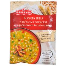 Podravka Bogata juha s ječmom i povrćem 70 g
