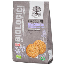 L´albero del Bio Gandola Keksi sa žitaricama i sjemenkama lana i chie organski 350 g