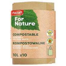 Paclan Vrećice za biološki otpad za kompostiranje 10 l 10/1