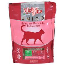 Miglior Gatto Unico Adult Hrana za mačke svinjetina sa šunkom 400 g
