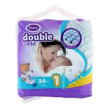 Violeta Double Care Air Dry Pelene, veličina 1 (Newborn) 2-5 kg 24/1