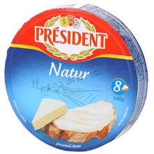 President Topljeni sir za mazanje natur 140 g