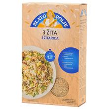 Zlato polje Riža 3 žitarica 1 kg