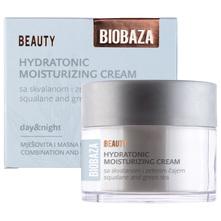 Biobaza Beauty Hydratonic moisturizing krema sa skvalanom i zelenim čajem 50 ml