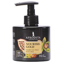 Afrodita Nourish-Gold Mlijeko za tijelo 250 ml