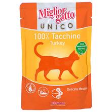 Miglior Gatto Unico Hrana za mačke mus s puretinom 85 g