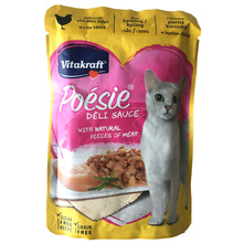 Vitakraft Poesie Delisauce Hrana za mačke pileći file 85 g