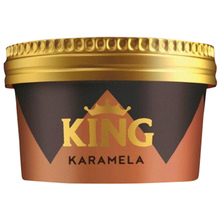 King Sladoled karamela 120 ml