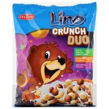 Lino Crunch duo žitne kuglice s okusom čokolade i vanilije 500 g
