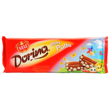 Dorina Čokolada milky puffs 240 g