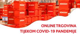 Online trgovina tijekom COVID-19 pandemije