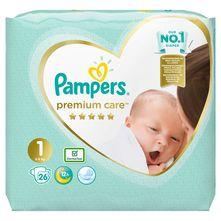 Pampers Premium Care Pelene, veličina 1, 2-5 kg 26/1