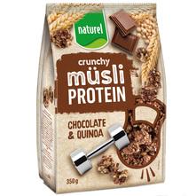 Naturel Protein crunchy muesli chocolate & quinoa 350 g