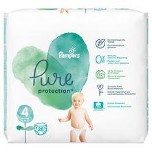 Pampers Pure Protection Pelene, veličina 4 (9-14 kg) 28/1