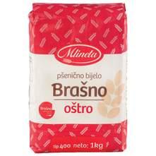 Mlineta pšenično oštro brašno tip 400 1 kg