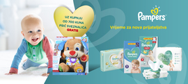 Pampers proizvodima do Psića sveznalice