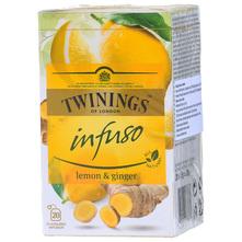 Twinings Infuso Čaj limun i đumbir 30 g