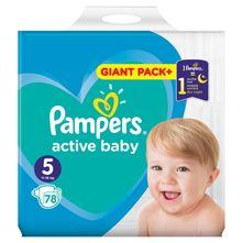 Pampers Active Baby Pelene, veličina 5 (11-16 kg) 78/1