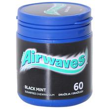 Airwaves Žvakaća guma black mint 84 g