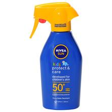 Nivea Sun Protect&Care SPF 50+ Dječji trigger sprej 300 ml