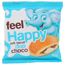 Feel Happy Biskvit choco duo 42 g