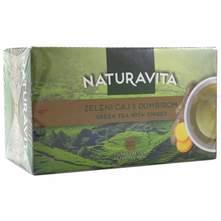 Naturavita Zeleni čaj s đumbirom 40 g